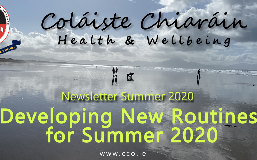 Wellbeing Newsletter – Summer 2020