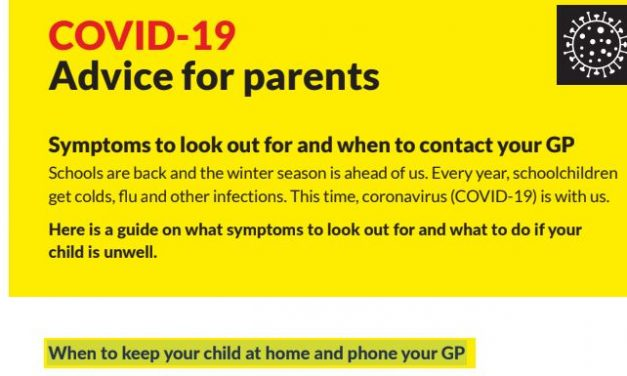 COVID-19: IMPORTANT Information for Parents