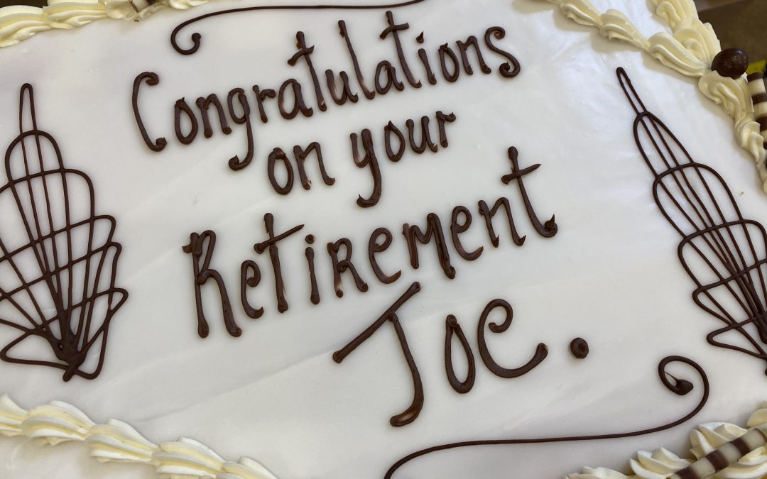 Retirement – Mr. Joe Farrell