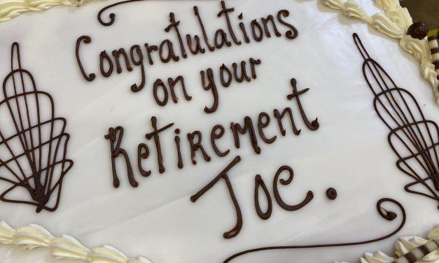Retirement – Mr. Joe Farrell