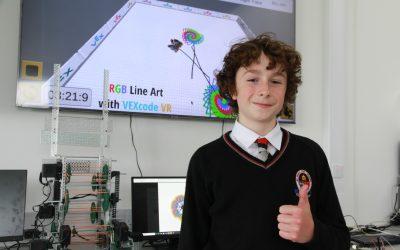 VEX Robot Art Win